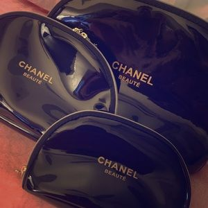 Chanel makeup bags